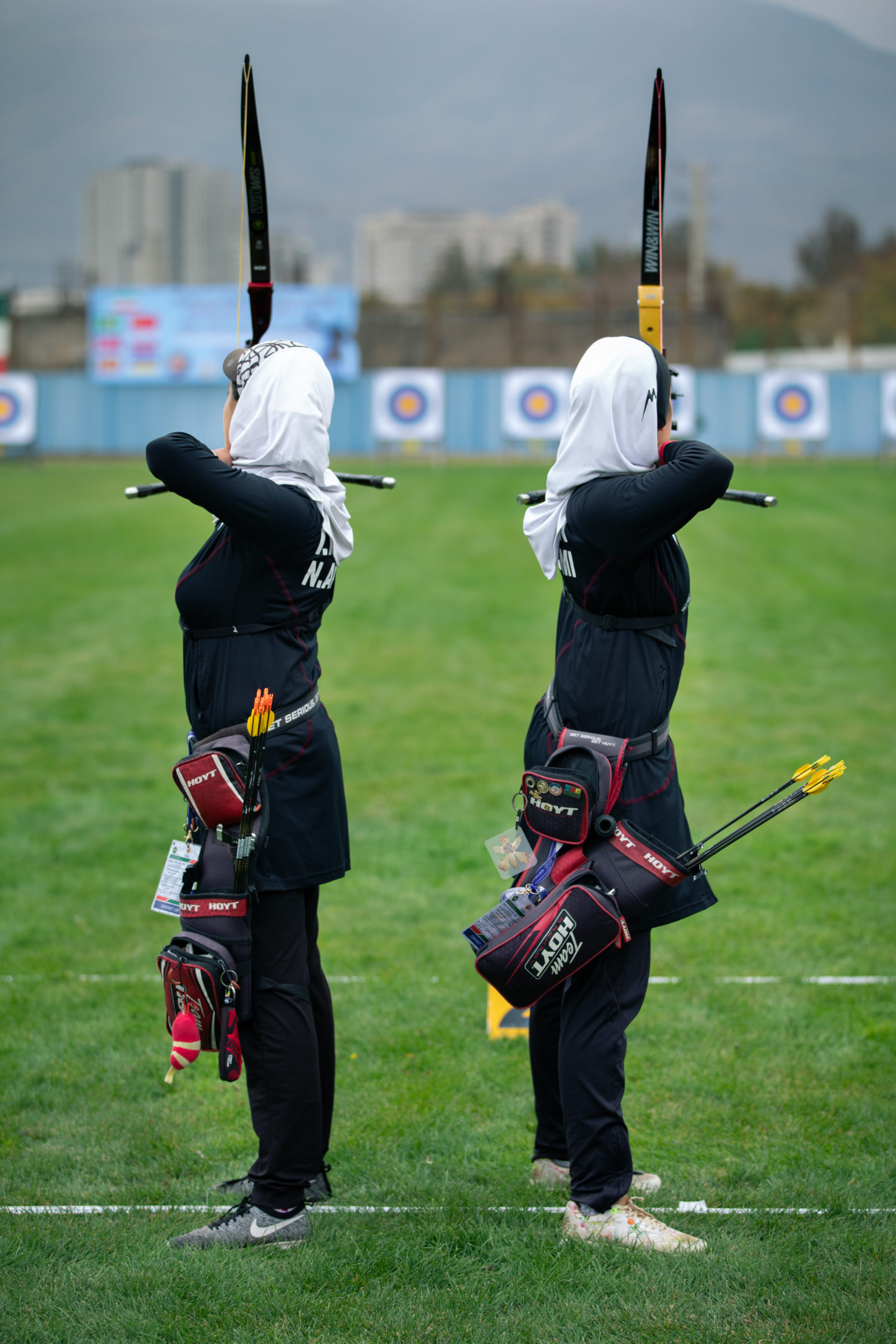 Archers CISM Competition in Iran